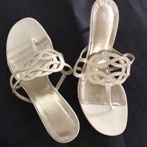 Valentino small heel sandal
